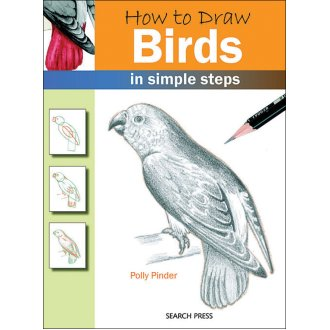 Search Press Books-How To Draw Birds