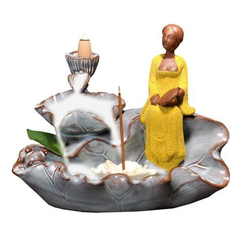 Beauty Design Ceramic Backflow Censer Burner