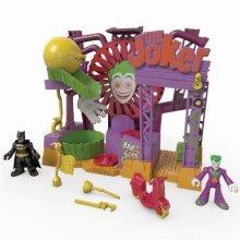 Fisher-Price Imaginext Dc Super Friends The Joker Laff Factory