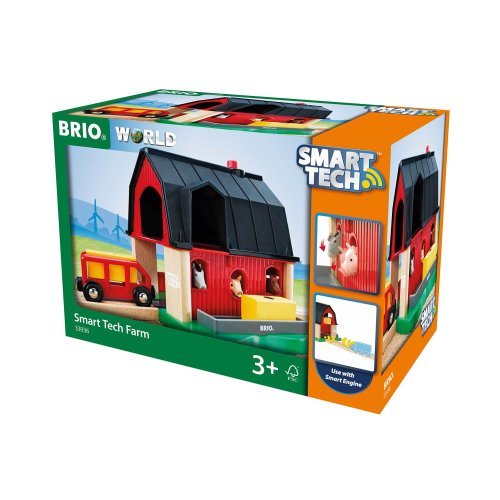 BRIO World - Smart Tech Railway - Farm Barn