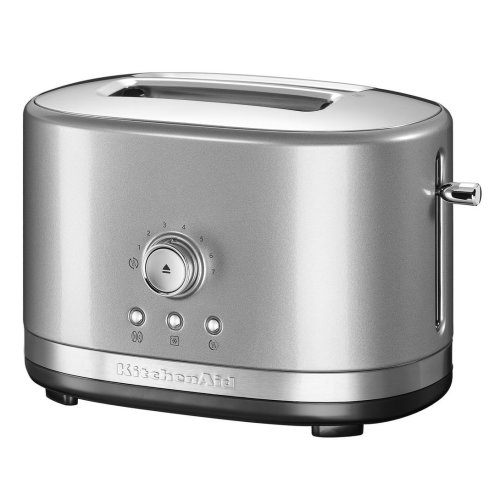 KitchenAid 5KMT2116BCU 2 Slice Toaster Extra Wide Slots High Lift Silver