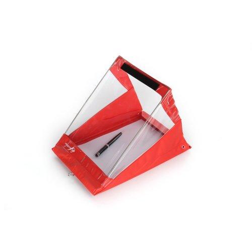A4 Portrait Waterproof Clipboard - RainWriter XL - Red - LIFETIME WARRANTY