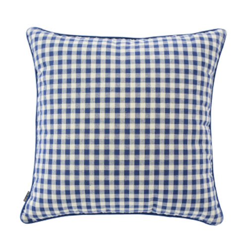 Square Throw Pillow Comfortable Soft Pillow Back Cushion Sofa Cushion Blue
