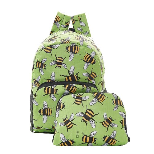 Mini expandable backpack holds 15kg ECO CHIC