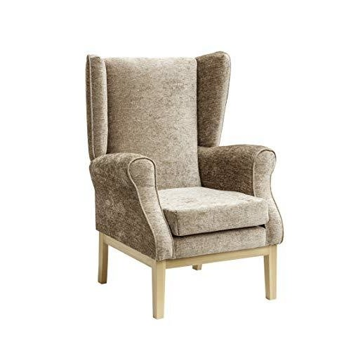 MAWCARE Ashbourne Orthopaedic High Seat Chair - 21 x 18 Inches [Height x Width] in Darcy Fawn (lc23-Ashbourne_d)