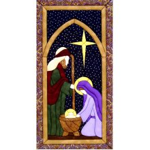 Holy Family Quilt Magic Kit-Holy Family
