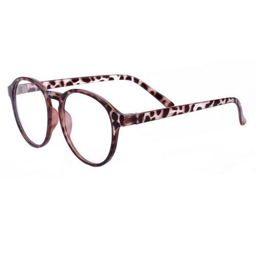 Fashion Flat Glasses Retro Decorative Glasses Frames -Leopard