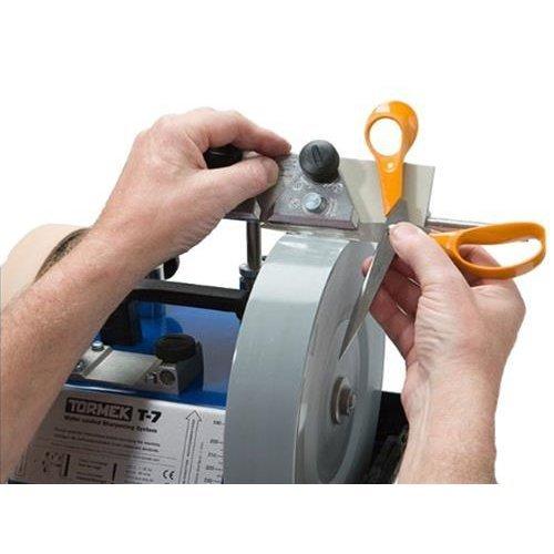 Scissors Sharpener Tormek SVX-150. The Scissors Sharpening Jig For Tormek Sharpening Systems. Gives All of Your Scissors an Even, Sharp Edge.