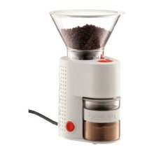 Bodum Bistro Burr Coffee Grinder in Off White