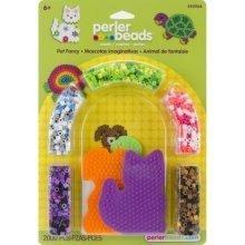 Prl55964 - Perler Beads - 2000 Pc Blister Set - Pet Fancy