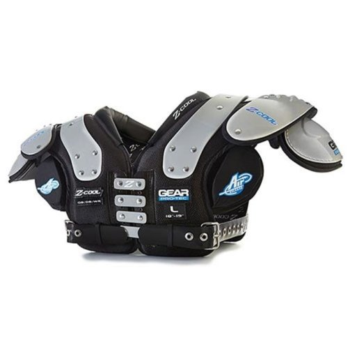 Gear Pro-Tec 1295771 Intimidator Youth Football Shoulder Pads, Air Tech Junior - Extra Small