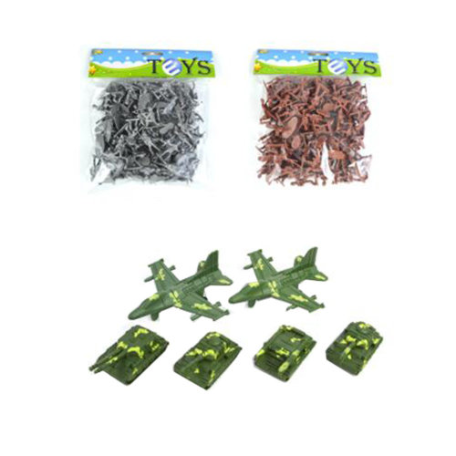 Toy Soldiers Toy Gifts/Toy Trucks/Toy Tanks Army Men Action Figure Models-200PCS