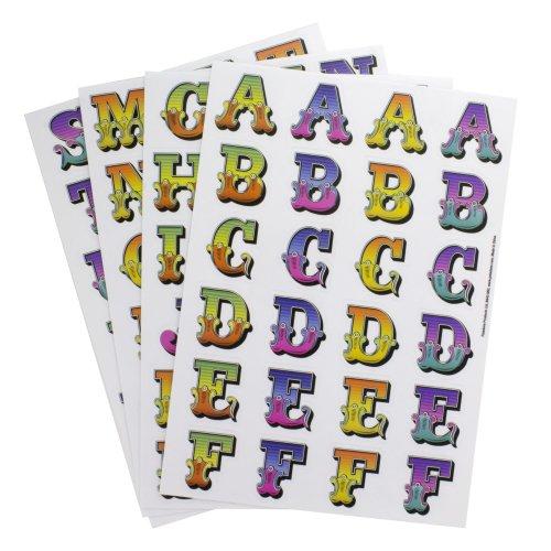 Letters Name Words Gadget Decals - Reusable & Waterproof Stickers