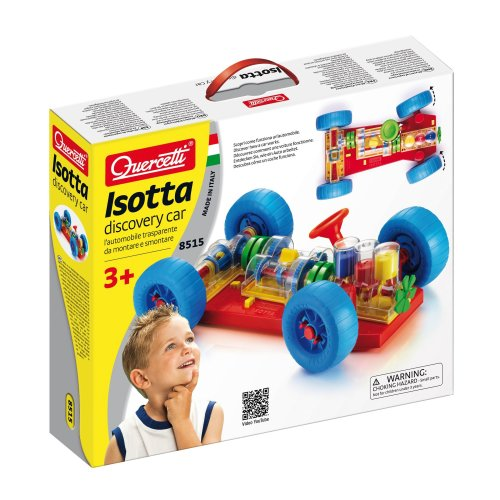 Quercetti Isotta Discovery Car Set
