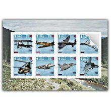 100 Years of the Royal Air Force Self Adhesive Pane Mint