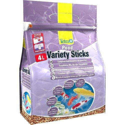 Tetra Pond Variety Sticks Food 600g (4 Litre)