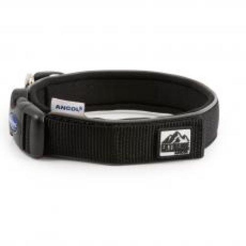 Extreme Nylon Padded Collar Black Size 3 30-34cm