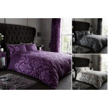 Empire Damask Luxury Duvet Cover Set