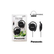 Panasonic Slim Clip-On Headphones - White (RPHS46EW)