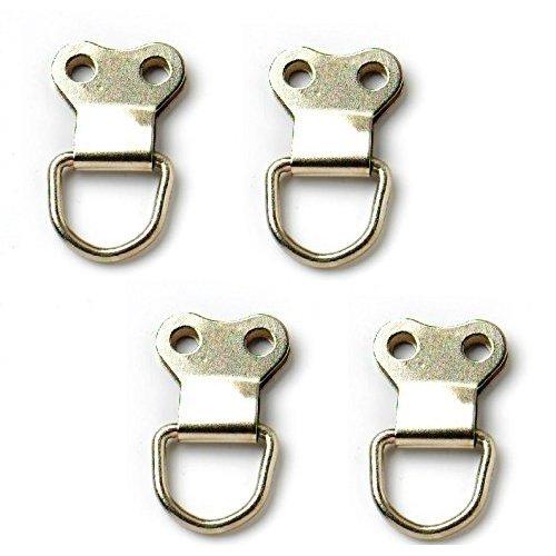 Bulk Hardware Bh02741 Picture Frame Hanging D Ring Large Nickel