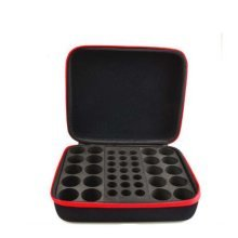 Essential Oil Box - 41 Slots. Best For 5ml 10ml And 15ml Drams(Red)