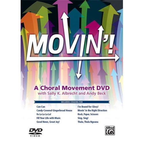 Alfred 00-46835 Movin A Choral Movement DVD