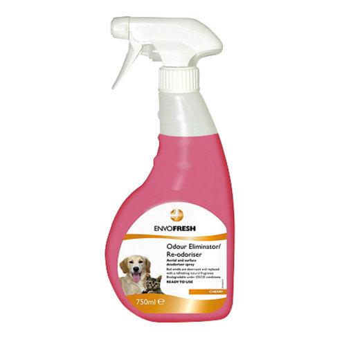 Envofresh Animal Scent Neutraliser Ready To Use 750ml non-stain/corrosive/toxic