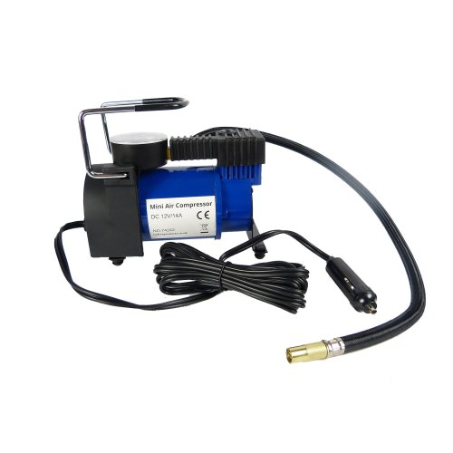 Hyfive 12v Compressor Portable Air Pump Mini Car Tyre Heavy Duty Compressor
