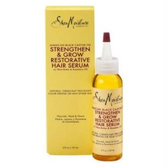 Shea Moisture Jamaican Black Castor Oil Restorative Hair Serum