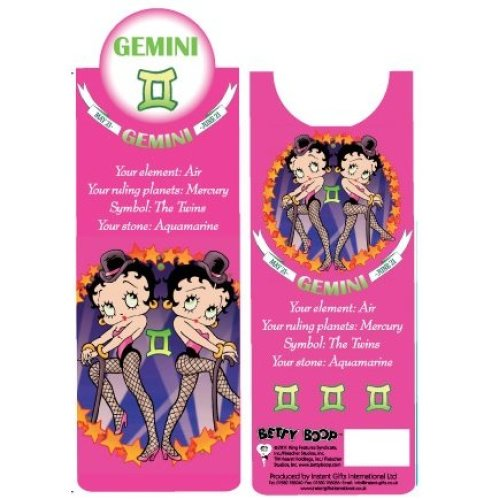 Betty Boop Gemini Bookmark