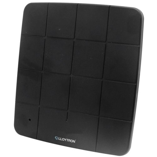Lloytron A3202BK Digital Active HD Indoor Panel TV Antenna - 50db