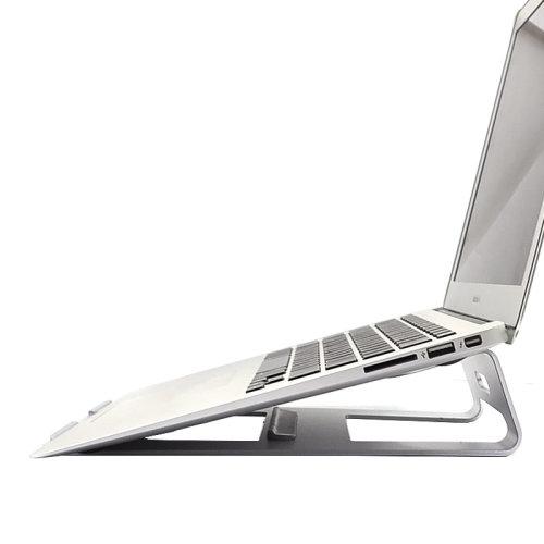 Metal Laptop Stand Holder Macbook Samsung HP Acer Asus Lenovo Chromebook Dell
