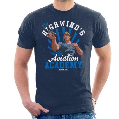 Cid Highwinds Aviation Academy Men's T-Shirt