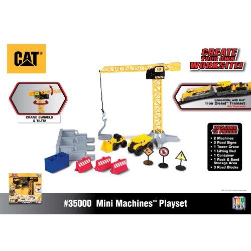 Cat Machines Crane Playset