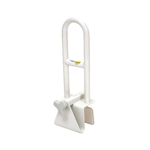 Essential Medical B3200 Adjust Tub Safety Bar - White, Consumer Box