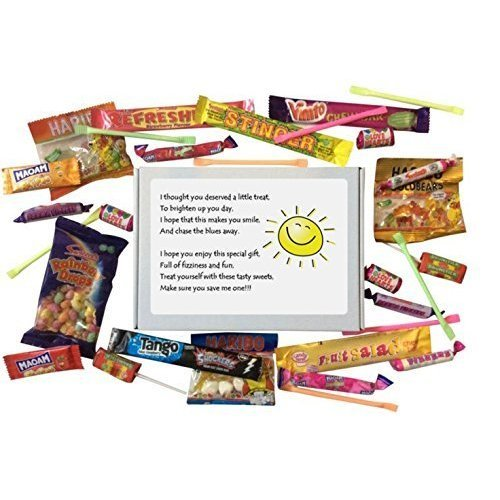 Cheer Up SWEET BOX gift for any occasion.  - Gift to cheer up a friend and say I'm thinking of you.