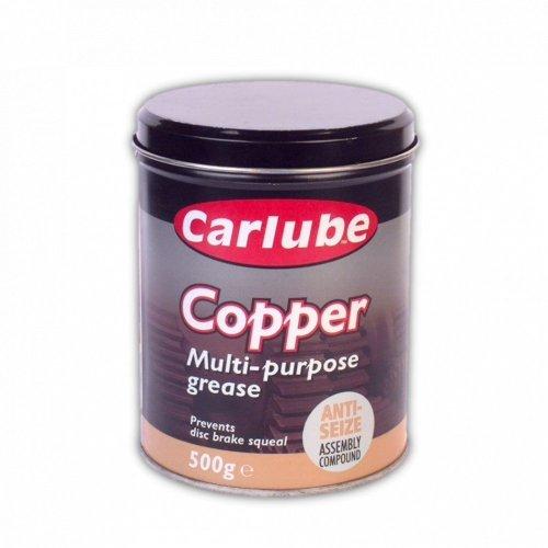 2 x Carlube XCG500 Multi Purpose Copper Grease 500g