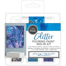 American Crafts Color Pour Glitter Mix-In Kit 4/Pkg-Galaxy Surge