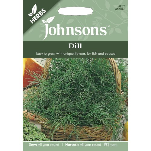 Johnsons Seeds - Pictorial Pack - Herb - Dill - 750 Seeds