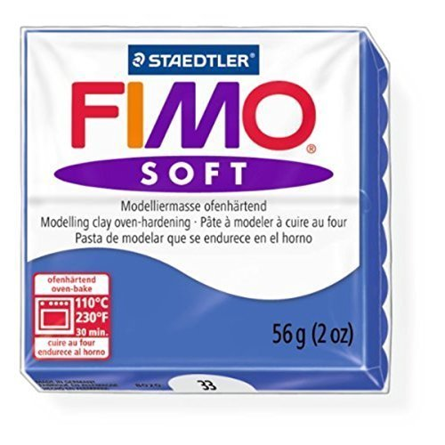 Staedtler - Fimo Soft 57g, Brilliant Blue