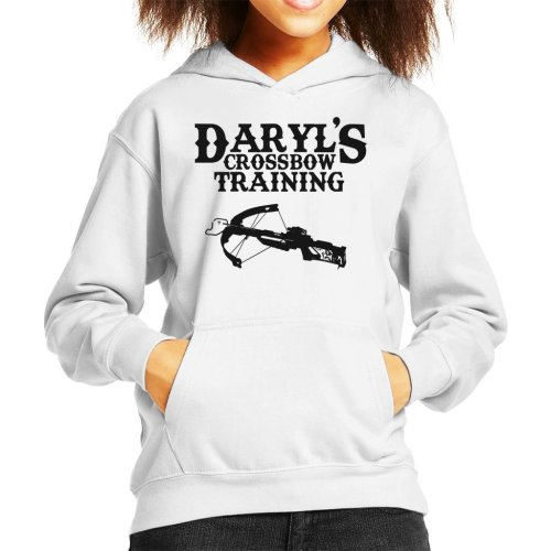 Daryls Crossbow Training Walking Dead Kid's Hooded Sweatshirt