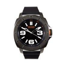Hugo Boss Men's 1513106 Black Silicone Analog Quartz Watch