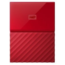 Western Digital My Passport 2TB 3.0 (3.1 Gen 1) 2000GB Red