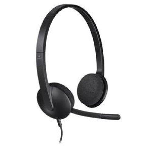 68f08a3b97f Logitech H340 Binaural Head-band Black headset on OnBuy