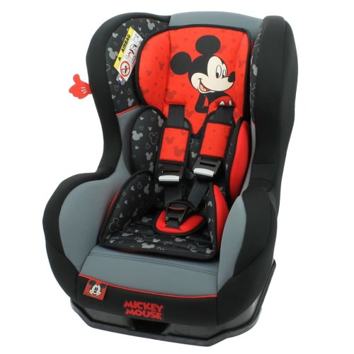 Disney Car Seat LUXE Cosmo SP Mickey 0+1 Red and Black