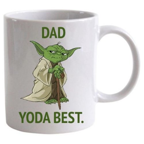 Dad Yoda Best 11oz ceramic mug LBS4ALL fathers day gift xmas
