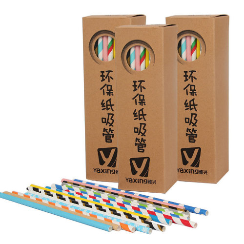 300 X Earth Friendly Biodegradable Paper Straws