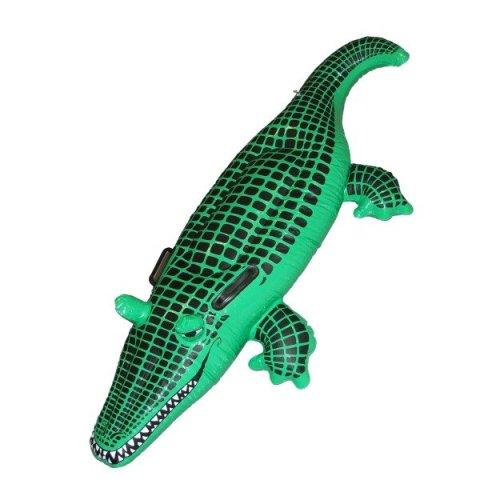 Smiffy's 140cm Crocodile Inflatable - Fancy Dress Smiffys Blow Up Party Beach -  crocodile inflatable fancy dress smiffys blow up party beach