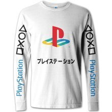 PlayStation Japanese Text Long Sleeve T-Shirt