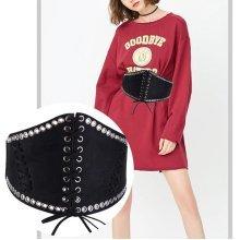 Rivet Decorative Dress Waist Belt
